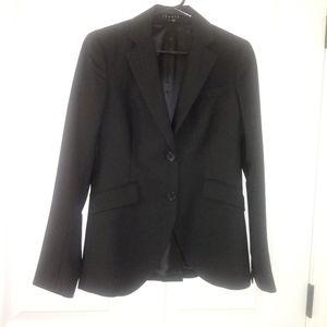 Theory Black blazer Size 4